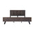Paris King-Size Bed Frame in Espresso Finish