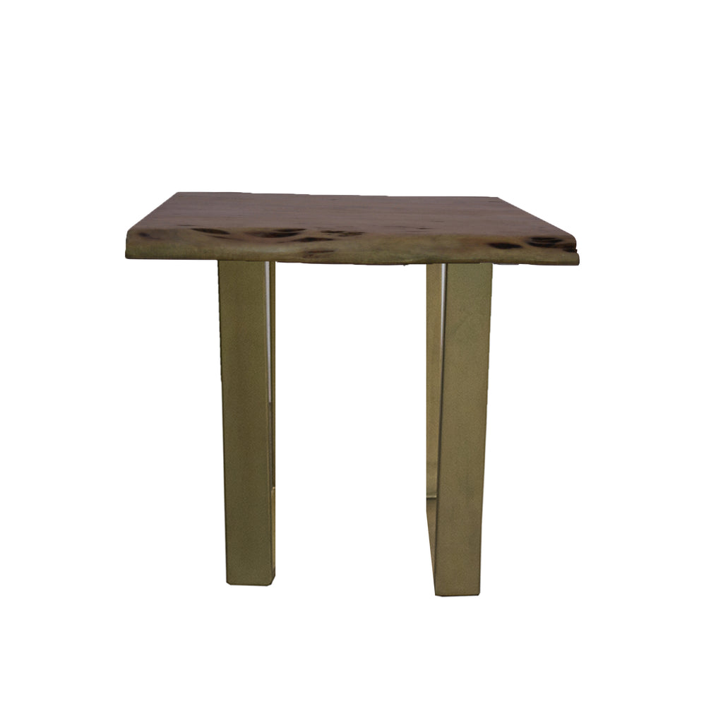 Elements Live-Edge Side Table