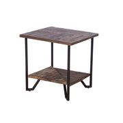 Table d'appoint carrée Casual Modern