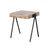 Taula Side Table in Natural Finish—Short