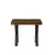 Titan Side Table in Dark Chestnut Finish