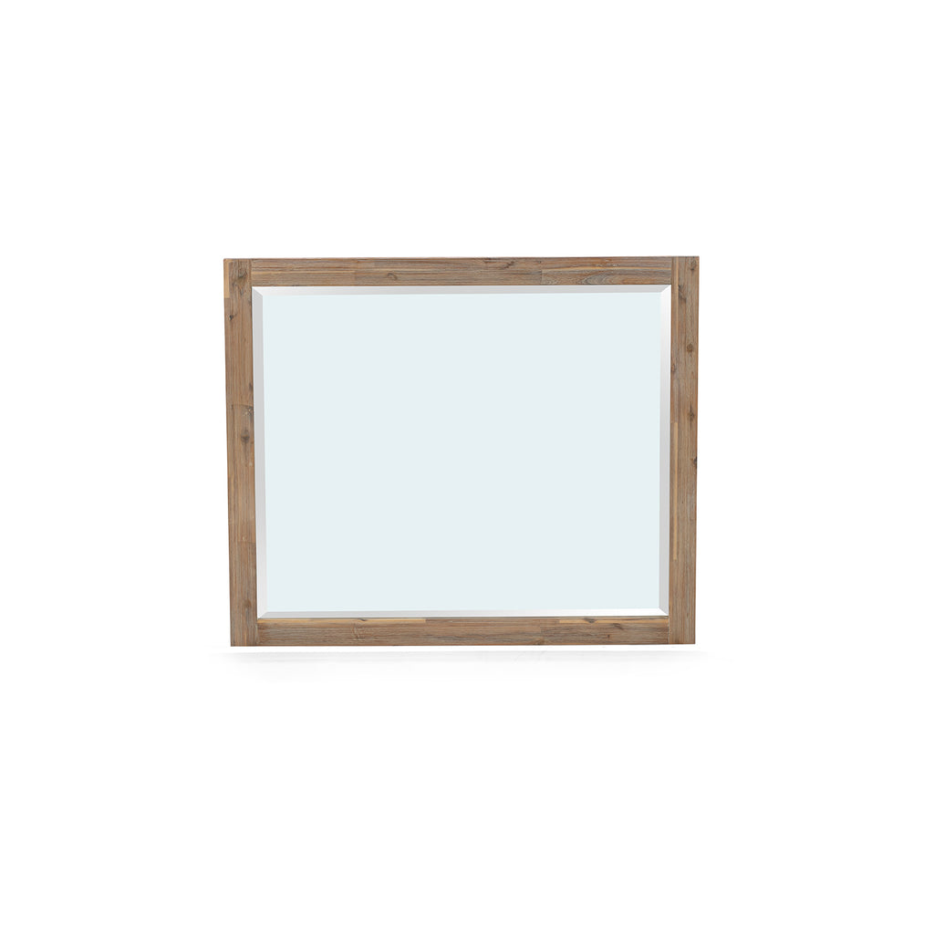 Jasmire Wall Mirror in White Limewash