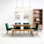 Clio 5-Shelf Bookcase in Light Honey Finish