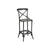 Industrial Counter Stool—Distressed Metal