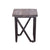Bois et Cuir's Casual Modern Series Bar Stool in Multi-tone Natural Finish