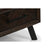 Paris Wood Coffee Table in Espresso Finish