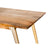 Clio 8-Seat Dining Table in Light Honey Finish