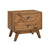 Laval 2-Drawer Wood Nightstand in Recycled Pine