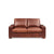 Cigar 2-Seater Leather Sofa