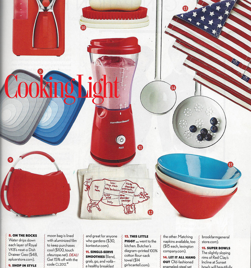 Girls Can Tell in Cooking Light Magazine