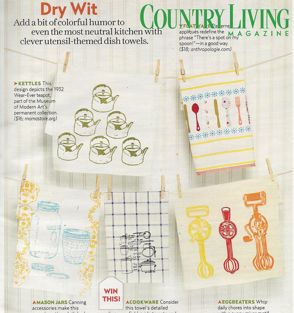 Girls Can Tell in Country Living Magazine