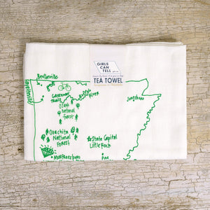 Arkansas Tea Towel