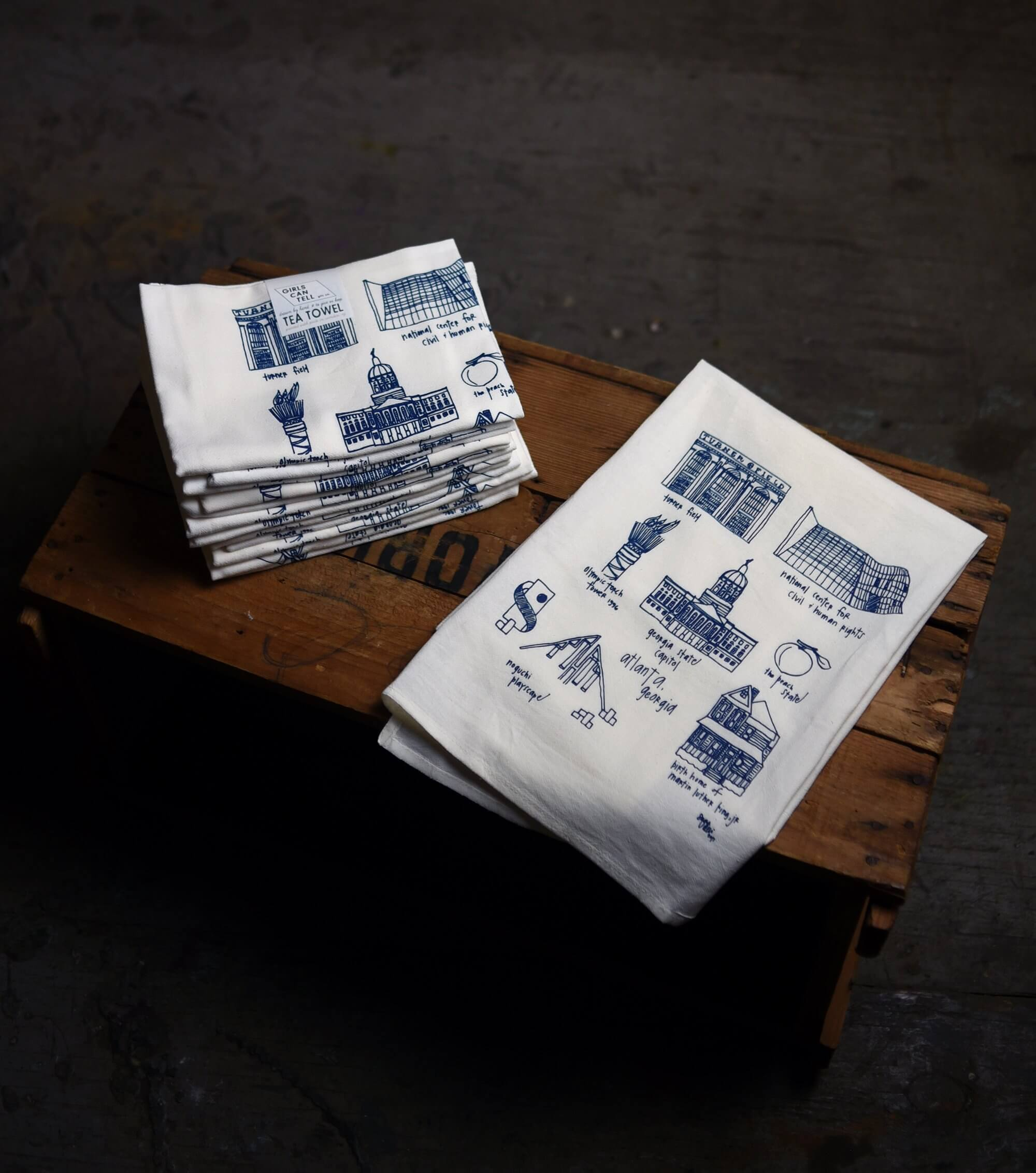 Atlanta Tea Towels for Realtors