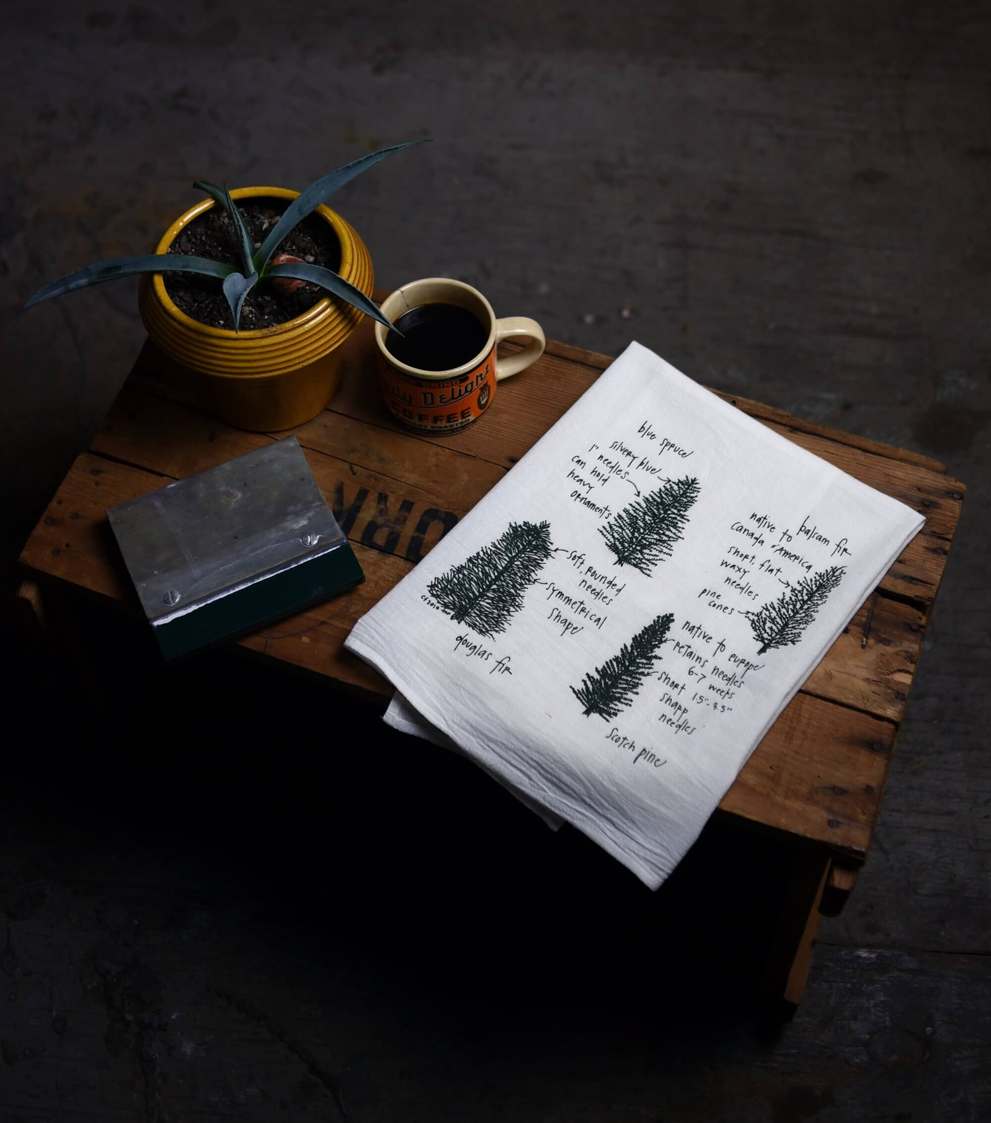 Conifer Tea Towels