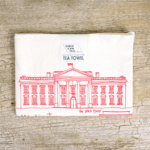 Washington DC Landmarks Tea Towel