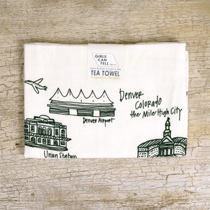 Denver Tea Towel