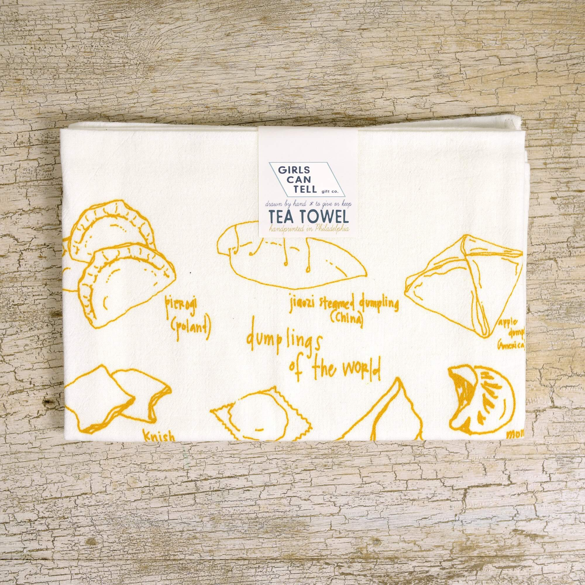 Dumplings Tea Towel