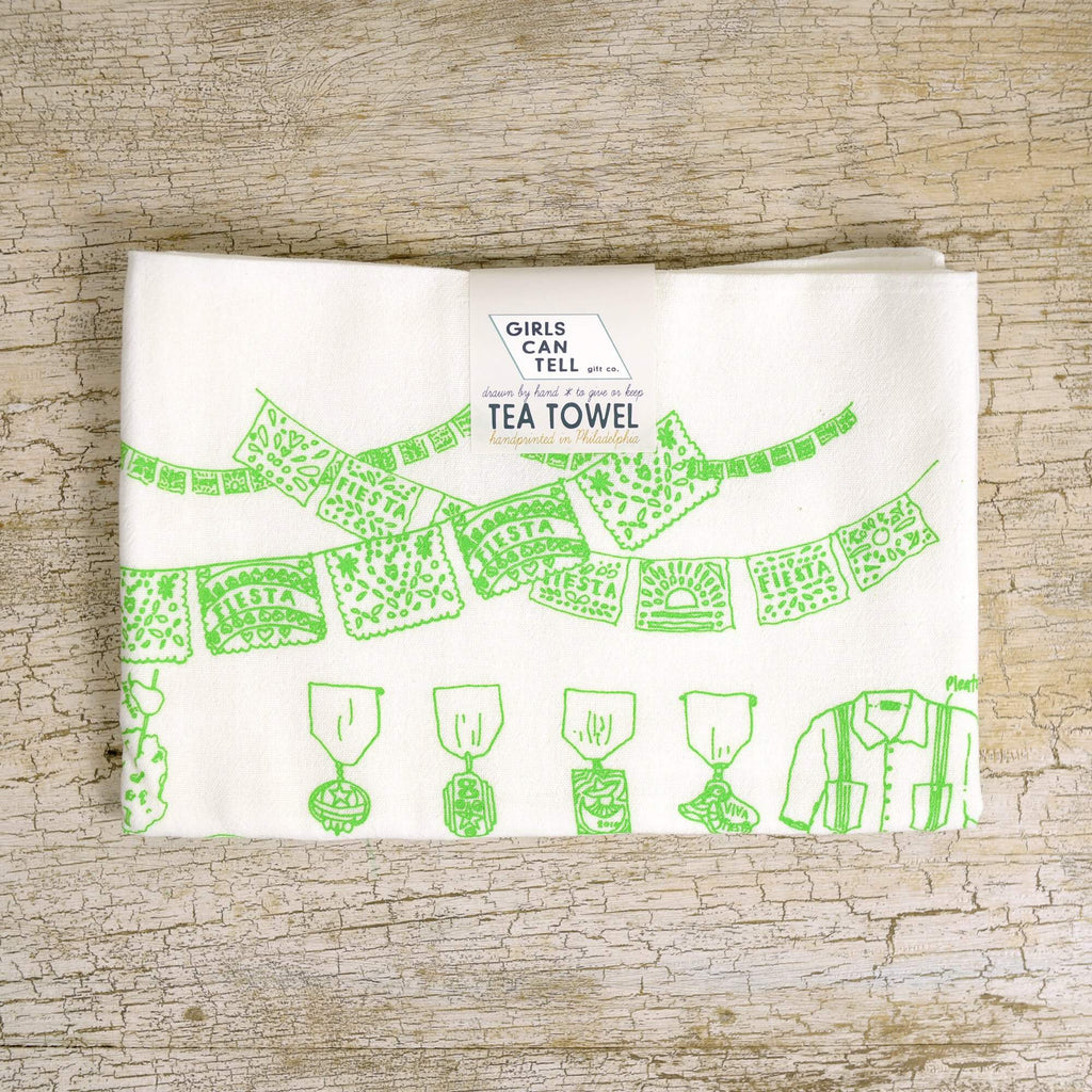 Fiesta Tea Towel
