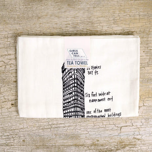Flatiron Tea Towel