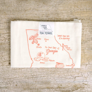 Georgia Tea Towel