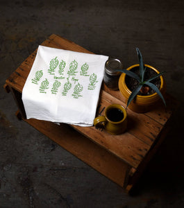 Hops Tea Towels