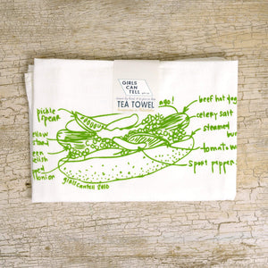 Hot Dog Tea Towel