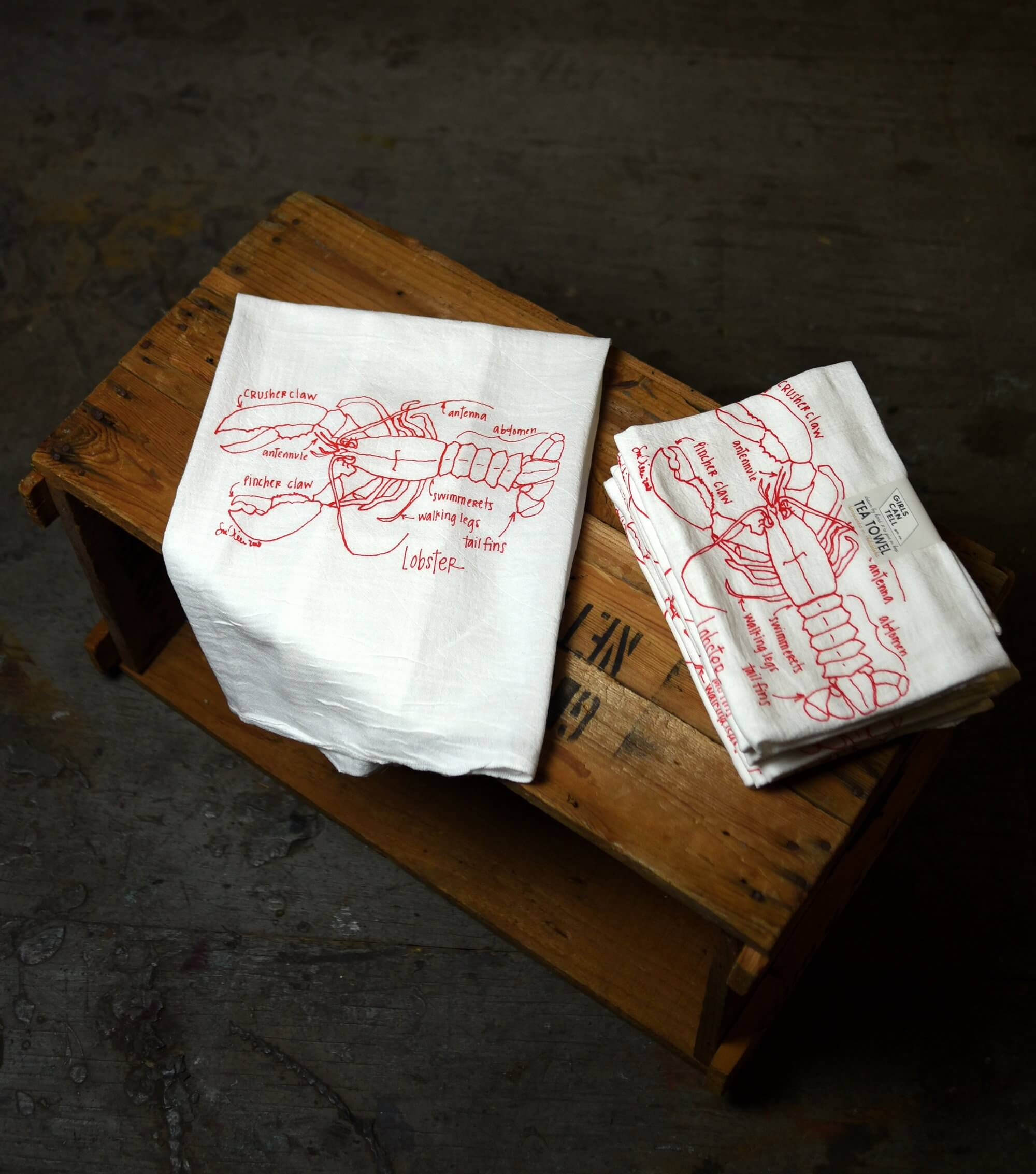 Lobster Tea Towels