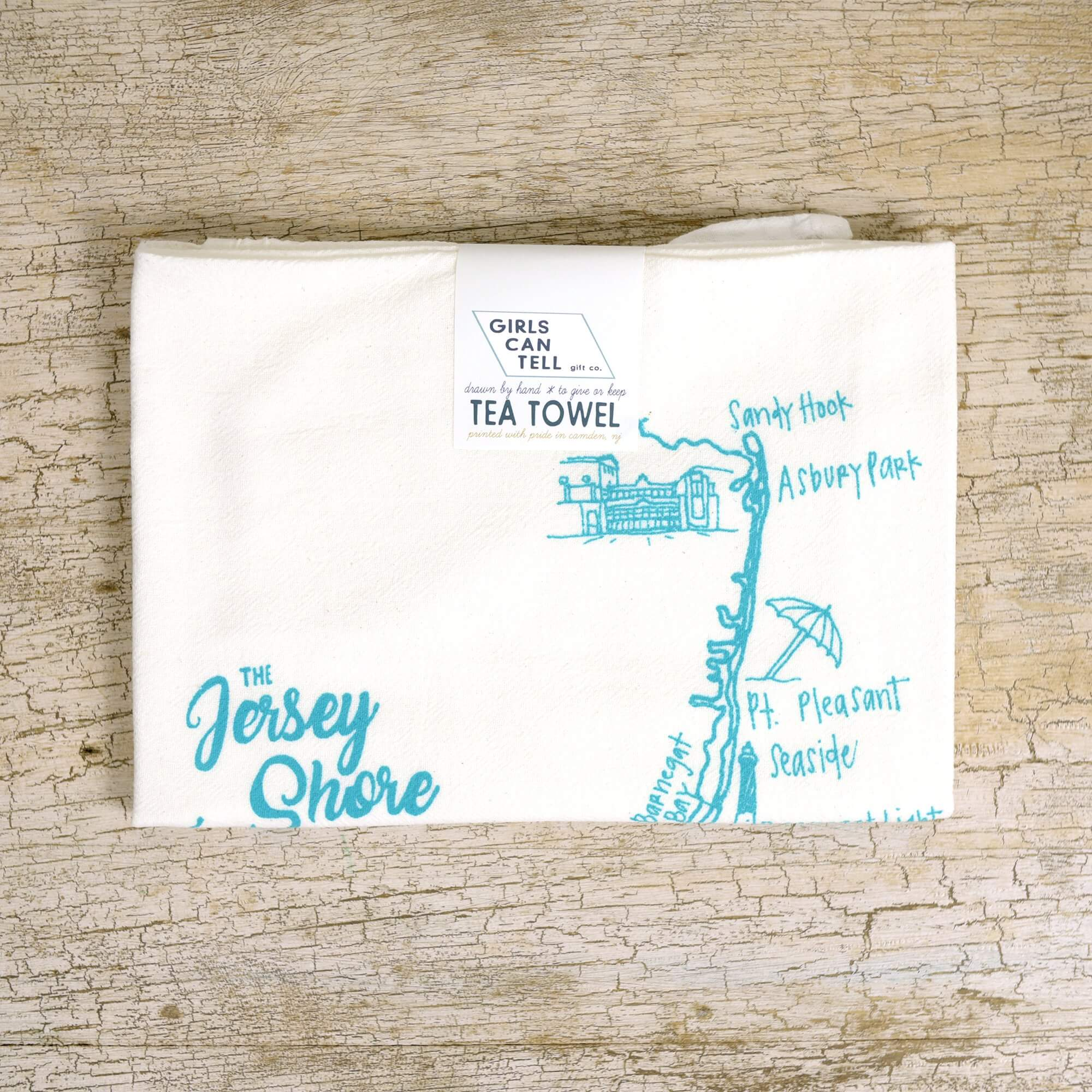 New Jersey Tea Towel