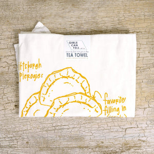 Pierogies Tea Towel