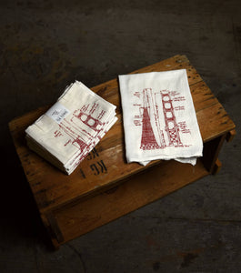 San Francisco Tea Towels