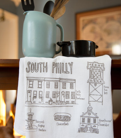 South Philly Tea Towel