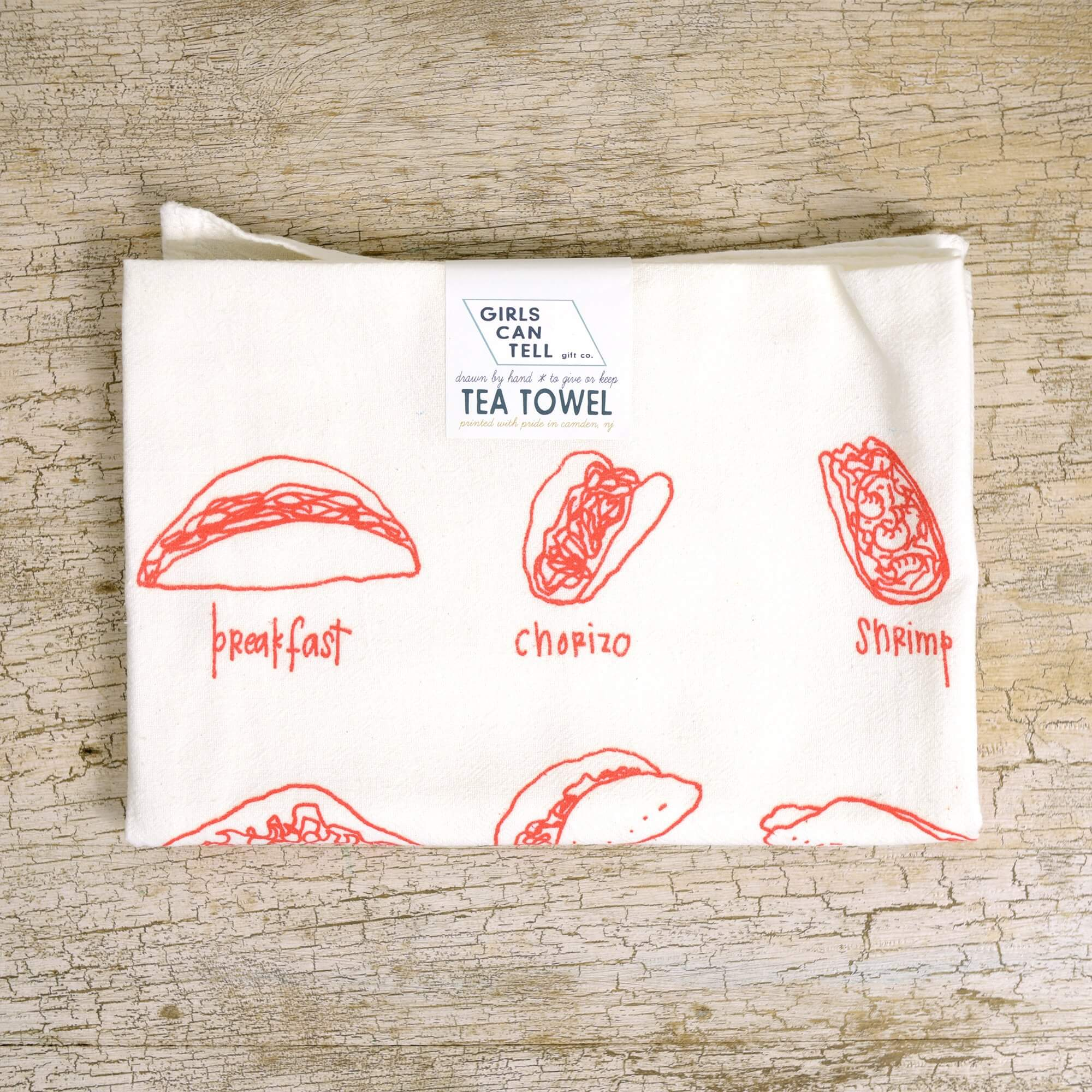 Foodie Tea Towel Bundle