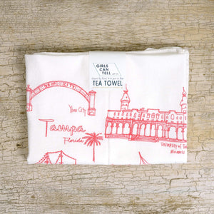 Tampa Tea Towel