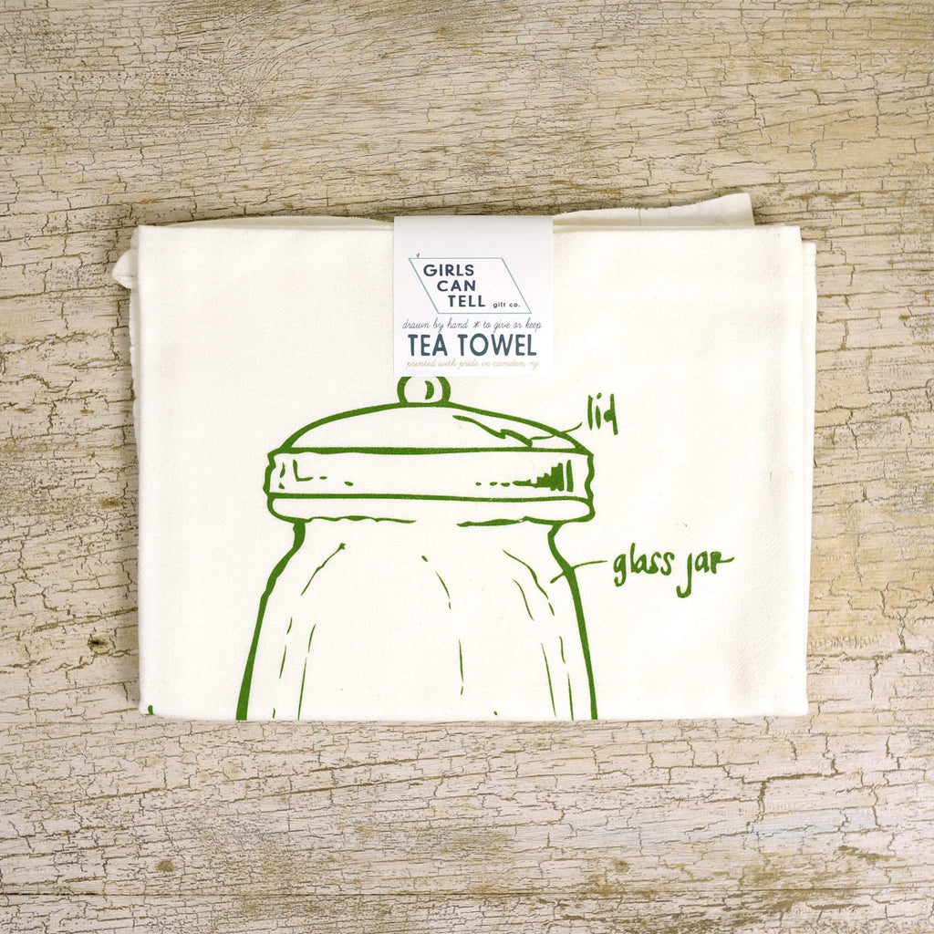 Terrarium Tea Towel