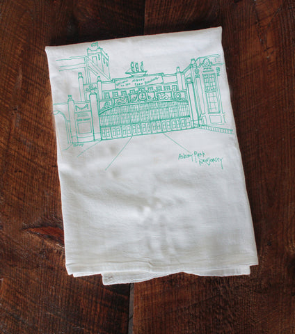 Asbury Park Convention Hall Tea Towel