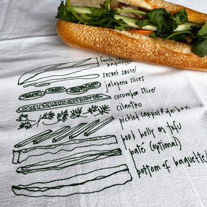 Banh Mi Tea Towel