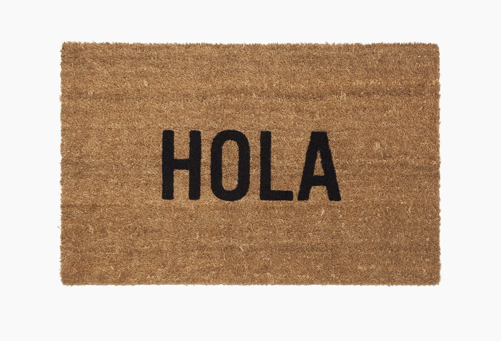 Hola Doormat (OUT OF STOCK)