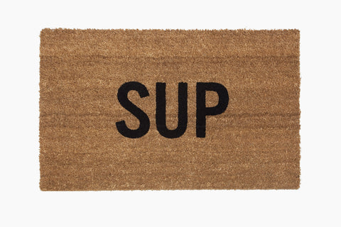 Sup® Doormat (Hand Stenciled)