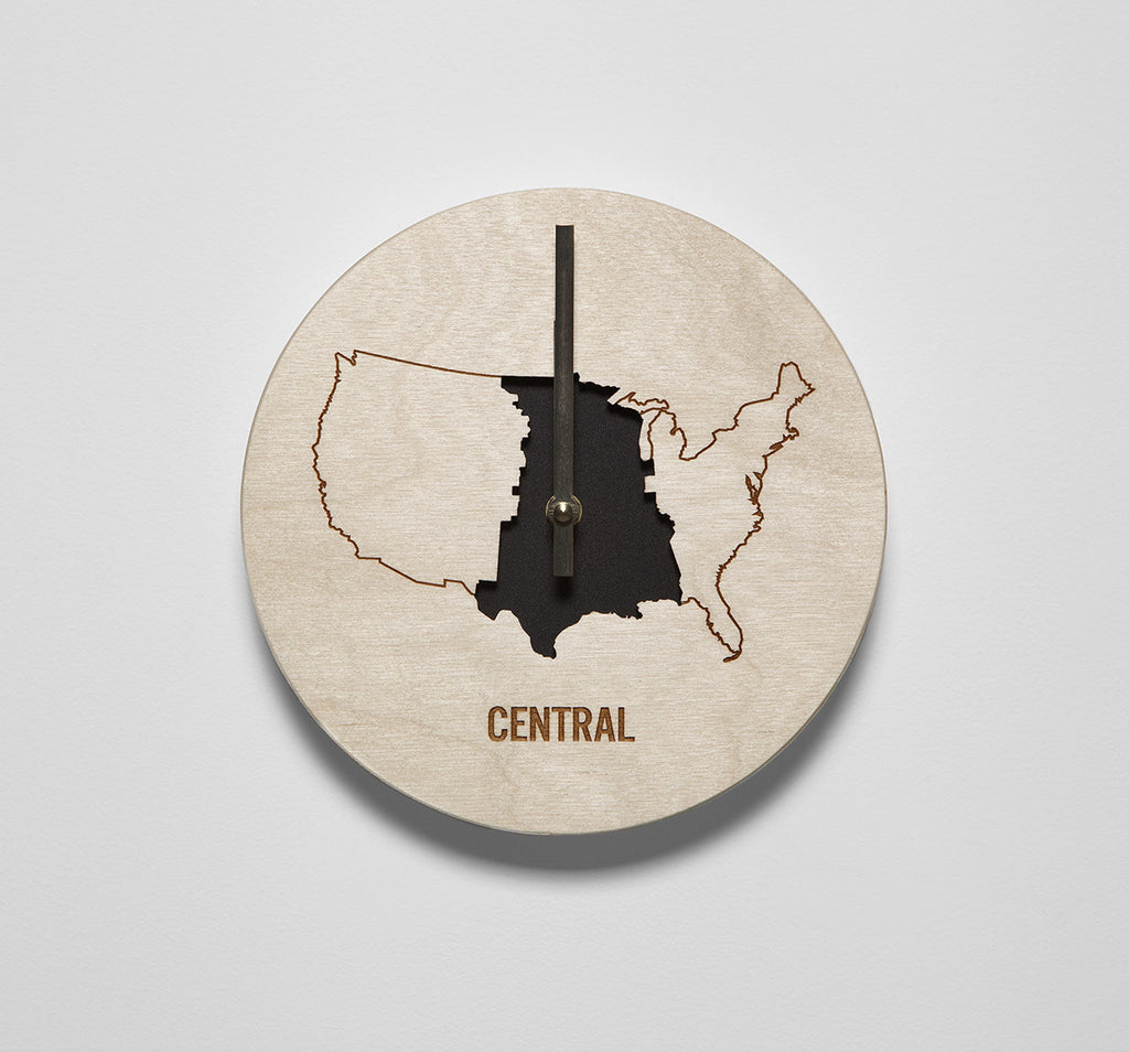 Central Time Zone Clock
