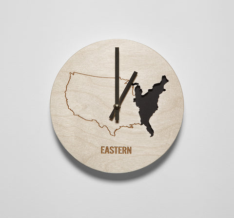 Eastern Time Zone Clock