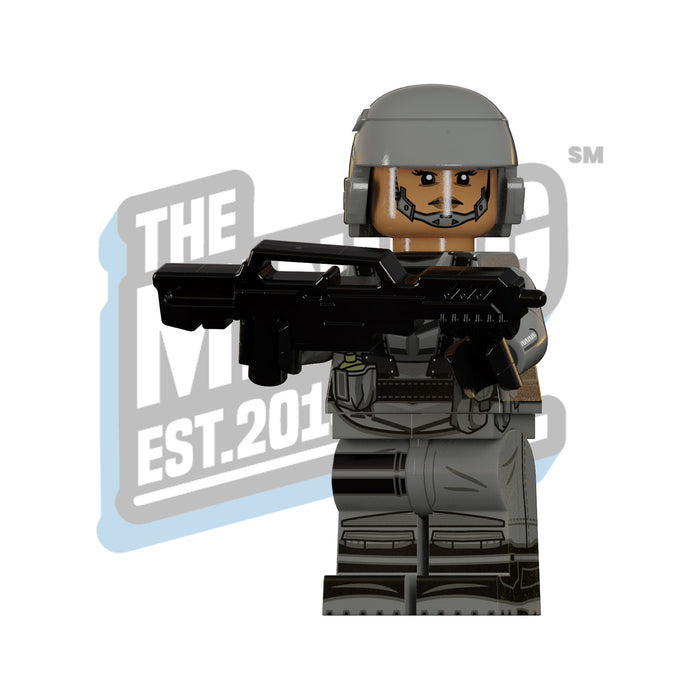 Custom Printed Lego - Intergalatic Mobile Trooper - The Minifig Co.