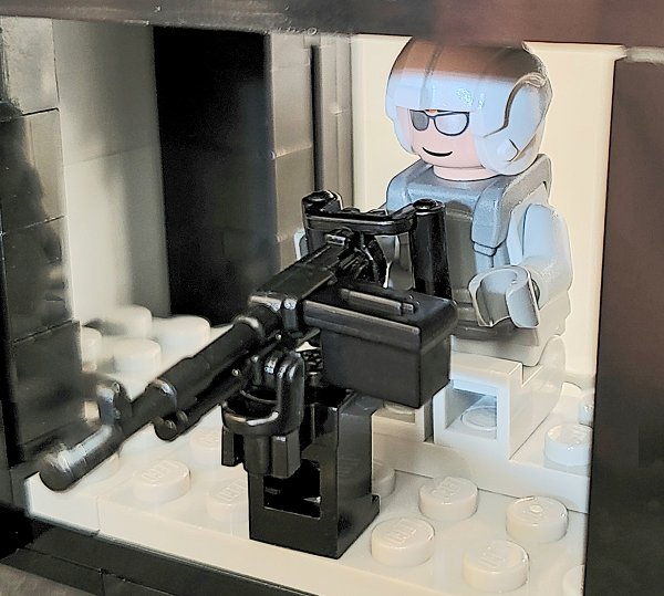 Custom Printed Lego - M240D - The Minifig Co.