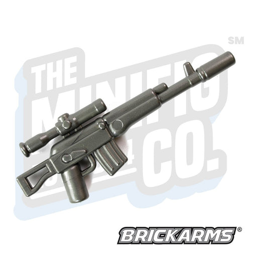 Custom Printed Lego - AK-SV (Gunmetal) - The Minifig Co.