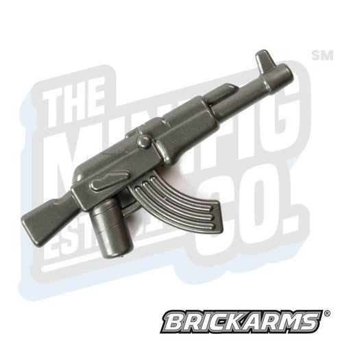 Custom Printed Lego - AKM (Gunmetal) - The Minifig Co.