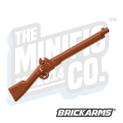 Custom Printed Lego - Flintlock Musket (Brown) - The Minifig Co.