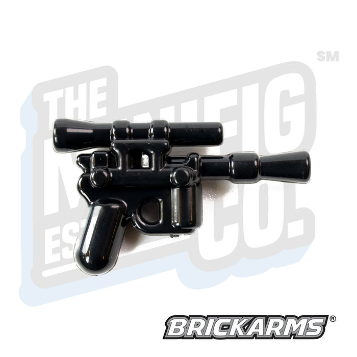 Custom Printed Lego - DL-44 (Black) - The Minifig Co.