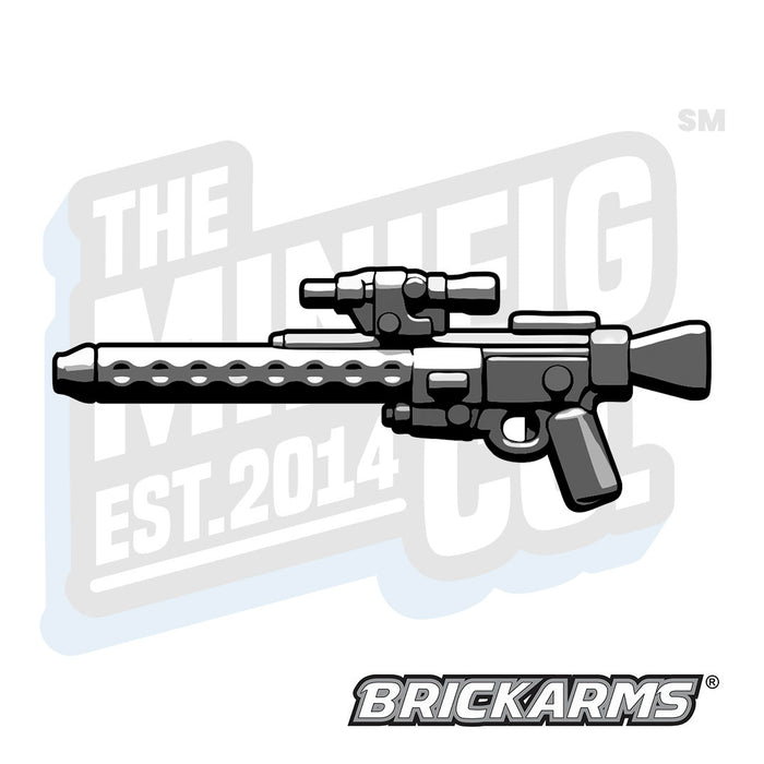 Custom Printed Lego - DLT-20A Heavy Blast Rifle (Black) - The Minifig Co.
