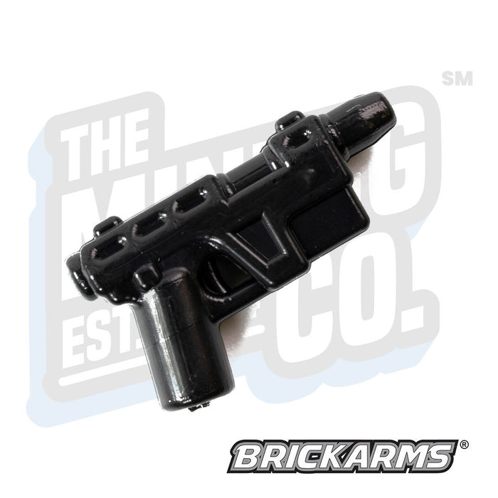 Custom Printed Lego - Glie-44 Resistance Pistol (Black) - The Minifig Co.