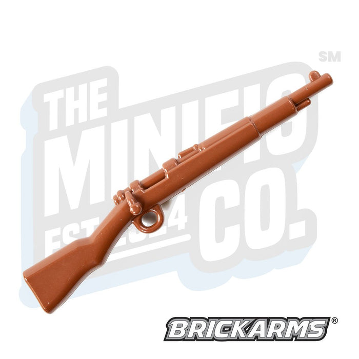 Custom Printed Lego - Kar98 (Brown) - The Minifig Co.
