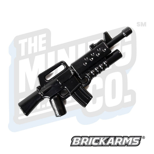 Custom Printed Lego - M16A2-GL (v2) (Black) - The Minifig Co.